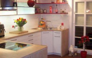 Beispiele für Küchen - Platten Haas